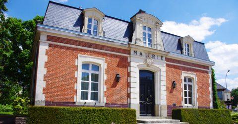 Photo de la mairie pour illustrer les séances du conseil municipales dans l'agenda