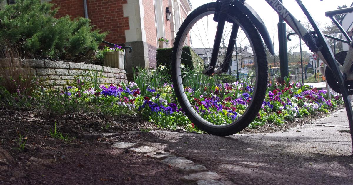 Illustrée les semaines de la mobilité, association Le Rheu à vélo